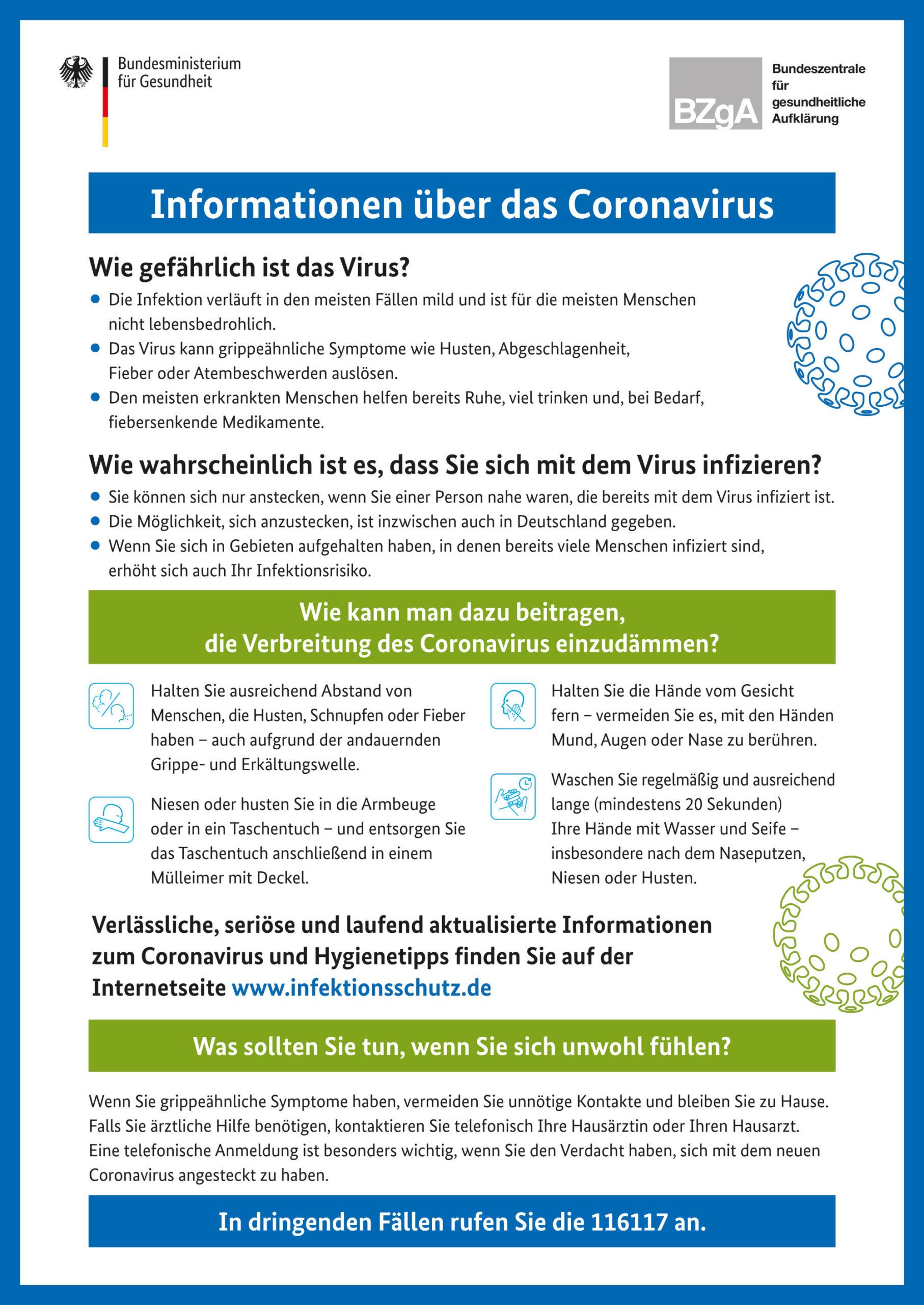 Zahnarzt Köln im Coronavirus Informationen!