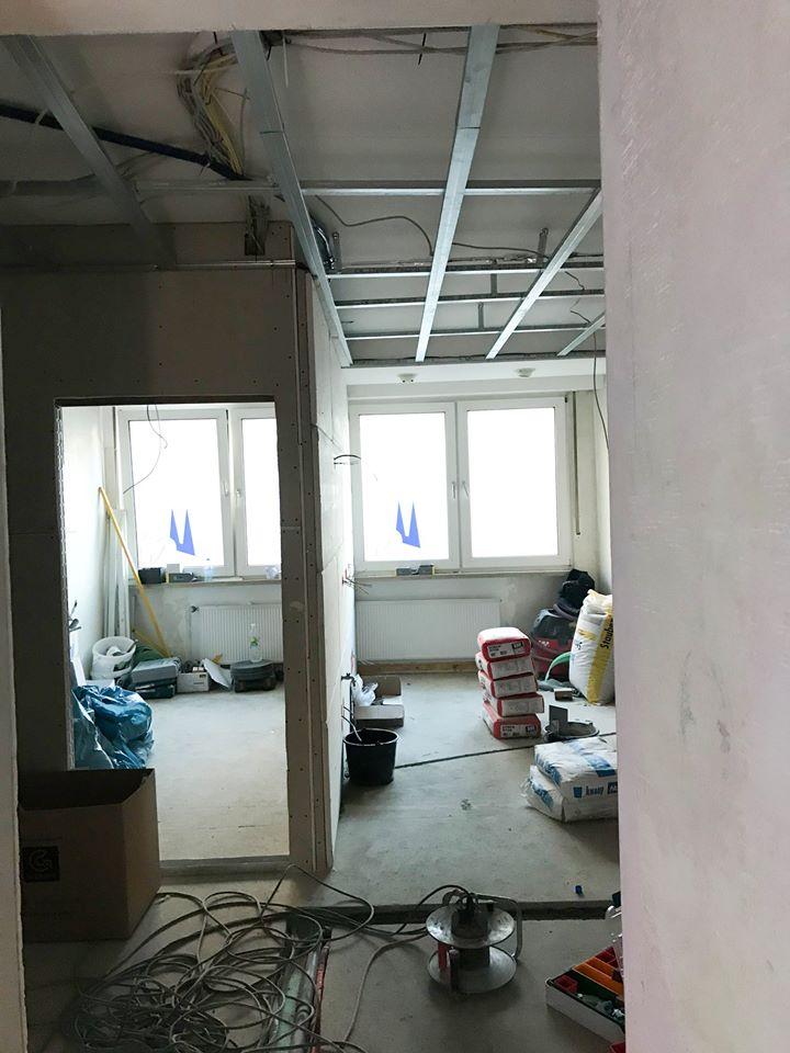 Umbau der zweiten Etage vom Zentrum für Zahnmedizin Neusser Straße.