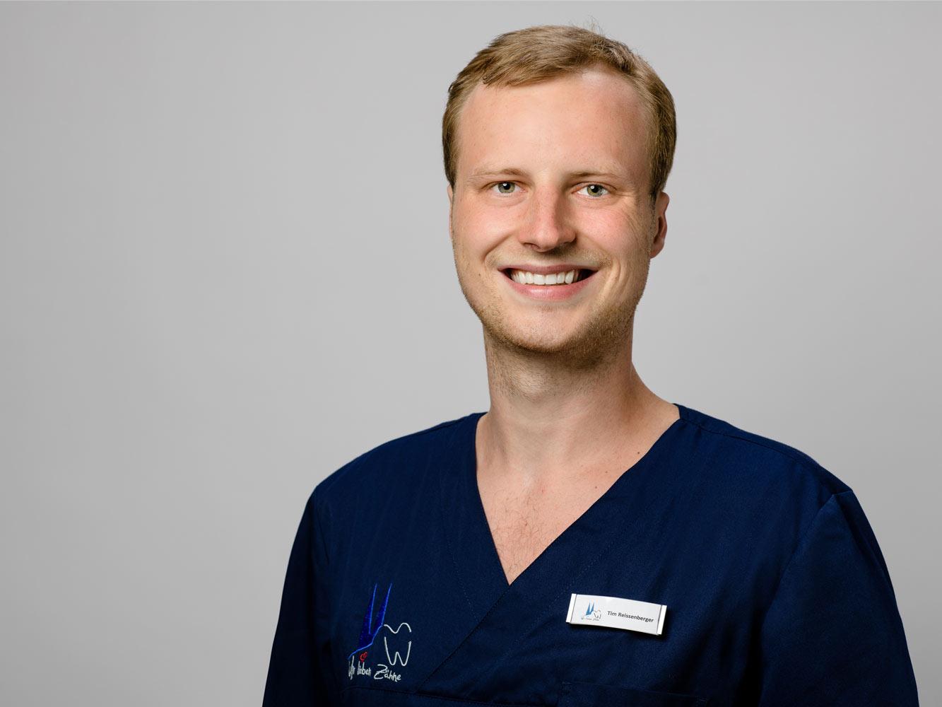 Tim Reissenberger Zahnarzt im Zentrum für Zahnmedizin Neusser Straße!