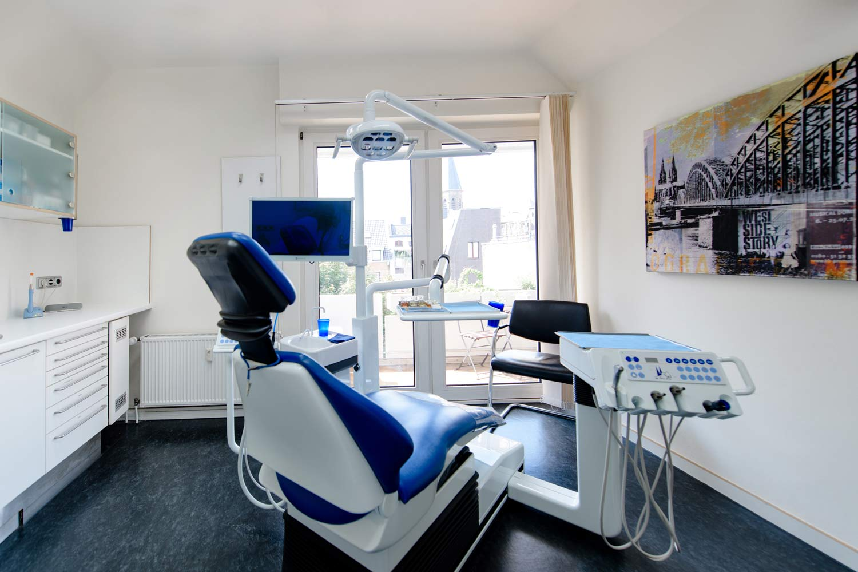 Inlays und Onlays Behandlungsraum!