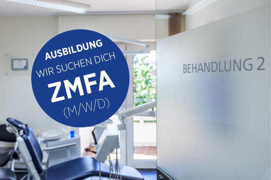 Ausbildung ZMFA (m/w/d) Zahnarzt Zentrum für Zahnmedizin Neusser Straße!